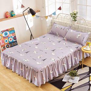 DHgate bedspread bedspread skirt single mattress protection antiskid dustproof apron fitted sheet bed skirt