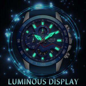 DHgate 2020 lige new bule fashion business wristwatch mens watches male waterproof dial date clock relogio masculino