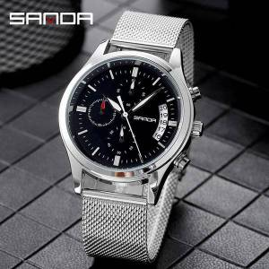 DHgate wristwatches mens analog quarts watches men wrist quartz business male clock watch military 30m waterproof wristwatch