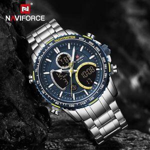 DHgate wristwatches naviforce sport watches mens analog alarm chronograph men luxury business quartz wristwatch male waterproof clock reloj hombre