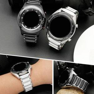 DHgate watch bands for huawei gt2 strap samsung s3 quick release ear smart fine steel ceramic accessory chain