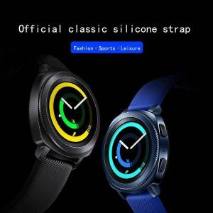 DHgate watch bands genuine solicone band for samsung gear sport smart watchband galaxy 3 41mm 42mm straps