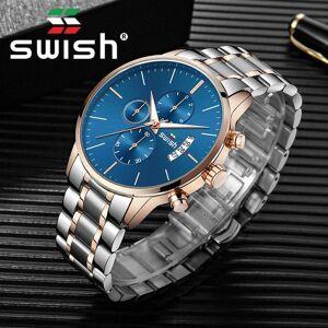 DHgate wristwatches swish 2021 analog sport watches men fashion brand military watch waterproof chronograph date quartz male relogio masculino