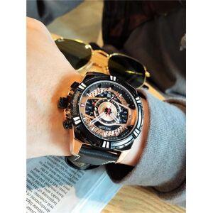 DHgate wristwatches megir men analog leather sports watches men's army military watch male date quartz clock relogio masculino 2118