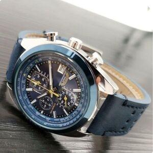 DHgate 2021 men luxury watches six stitches series all dials work mens quartz watch citiz brand clock fashion round shape montre
