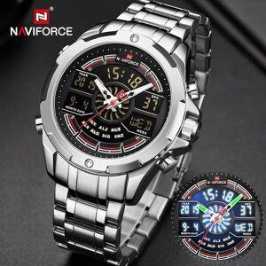 DHgate wristwatches relogio masculino naviforce luxury watches mens waterproof analog alarm digital sport military quartz wrist watch for men clock