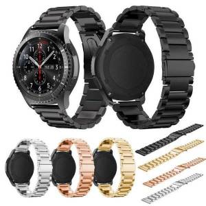 DHgate watch bands oulucci stainless steel band for samsung gear s3 frontier strap classic smart bracelet with adjust tool