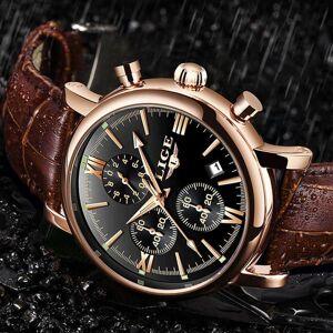 DHgate wristwatches lige fashion classic men's sport watch man analog quartz watches waterproof date military multifunction wrist men clock