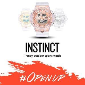 DHgate wristwatches men's sports fashion luminous alarm clock electronic watch waterproof analog wrist watches reloj