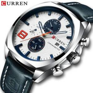 DHgate wristwatches relogio masculino men watches curren military analog quartz clock men's sport wristwatch male waterproof watch