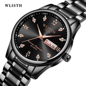 DHgate wristwatches men's watches quartz watch luminous wilsth mens analog date & week sport wrist male relogio masculino