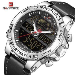 DHgate wristwatches naviforce mens watches waterproof sport analog alarm digital chronograph quartz wristwatch male clock reloj hombre