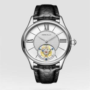 DHgate wristwatches tourbillon watch mechanical sapphire mirror business men watches hollow perspective personalized gift male clock