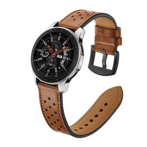 DHgate watch bands 20mm 22mm leather watchs band for samsung galaxy 46mm sport smart wristband smartwatchs accessories