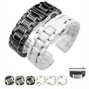 DHgate watch bands 22mm ceramic mix steel for huawei smart band gt 2 watches wrist strap brand watchband samsung s3 s4 honor magic