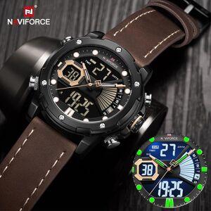 DHgate watches mens 2021 luxury military sport wateproof quartz wrist watch led digital analog alarm clock relogios masculino wristwatches