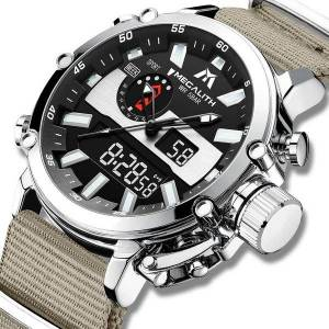 DHgate wristwatches wholesale price megalith watches men multifunction waterproof led sport chronograph quartz wristwatch relogio masculino 8229