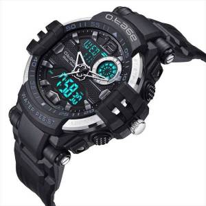 DHgate wristwatches o.tage mens analog digital waterproof outdoor sport watch military multifunction alarm calendar chronograph