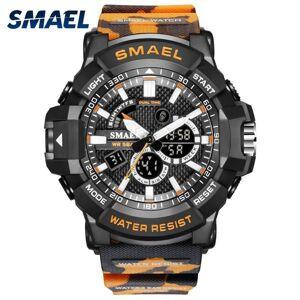DHgate wristwatches fashion men's sports digital watches led alarm dual time quartz electronic watch man military chronograph analog clock sat