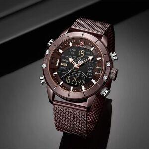DHgate wristwatches mens watches naviforce digital sports watch men military chronograph analog alarm clock male quartz wristwatch