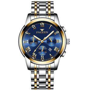DHgate wristwatches fngeen non-mechanical watch trendy quartz men's watches waterproof luminous student analog wristwatch reloj