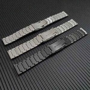 DHgate watch bands metal stainless steel strap for forerunner 645 245 245m watchband 20mm garmin vivoactive 3 music vivomove hr venu band