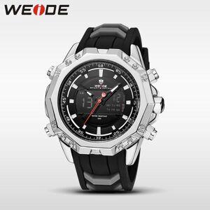 DHgate wristwatches weide men quartz watch analog digital reloj hombre alarm automatic date man military wristwatch men's fashion black army w
