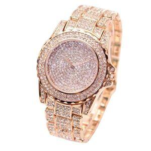 DHgate wristwatches men's watches man diamond watch clock analog quartz gifts 2021 luxury male relojes hombre
