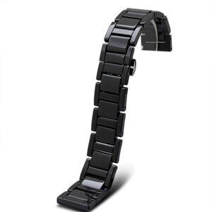 DHgate watch bands 20mm 22mm ceramic watchband for samsung gear s2 classic r732 r735 sport moto 42mm 46mm men smart band strap bracelet