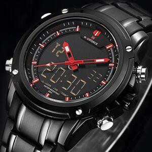 DHgate wristwatches naviforce men's sport army military watches analog led digital alarm calander waterproof watch relogio masculi