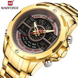 DHgate wristwatches naviforce men watch waterproof quartz wrist sport chronograph analog male digital clock relogio masculino