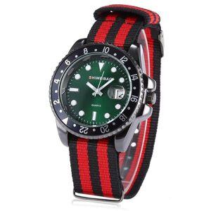 DHgate wristwatches fashion quartz watch men wrist classic fabric bracelet role wristwatch date analog relogio masculino sports reloj hombre