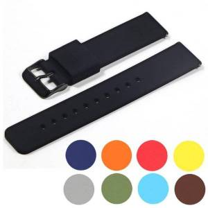 DHgate watch bands 14mm 16mm 18mm 20mm 22mm silicone band strap quick release watchband bracelet for samsung active 2 huami huawei smart