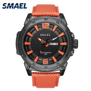 DHgate wristwatches mens analog quartz watches leather smael big watch men alarm relogio cool sport waterproof 1316 digital sports