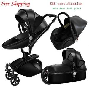 DHgate aulon baby stroller 3 in 1 high land-scape fashion carriage european design pram on 2020