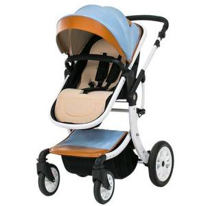 DHgate baby stroller can sit and lie down high landscape car baby folding car newborn children 0-3 years old children use stroller