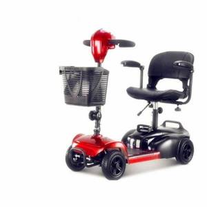 DHgate elderly scooter four wheel electric household disabled bicycle small double folding car battery strollers#