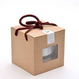 DHgate kraft paper box for honey cosmetics soap paper storage gift package with holder in 10pcs/50pcs