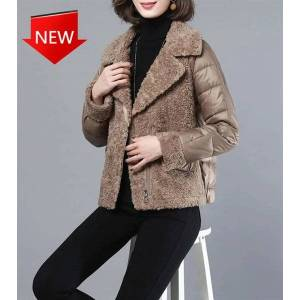 DHgate puffer women's clothing down parka with winter jackets korean-style sweaters woman more size