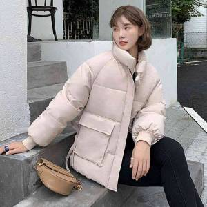 DHgate puffer jacket outfit for woman winter bubble fashion