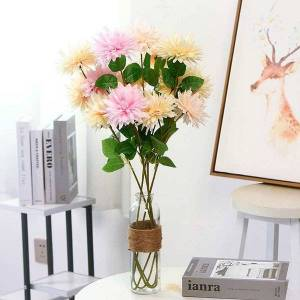 DHgate 5pcs artificial simulation narcissus flower home decor wedding living room window table scene decor narcissus artificial flower