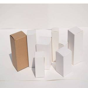 DHgate 50pcs 10/15/20/30/50/100ml oil bottle packaging gift box kraft paper tube packing box small paper cardboard diy craft candle