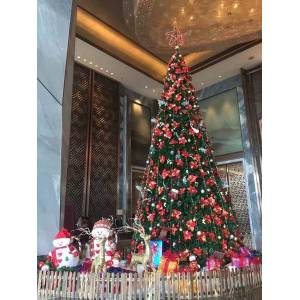 DHgate christmas decorations christmas large steel frame tree frame l shopping mall outdoor scene decoration