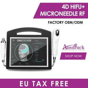 DHgate pro 4d hifu 12 lines + fractional rf thermage skin lift ultrasound hifu face beauty machine wrinkle removal face and body body slimming
