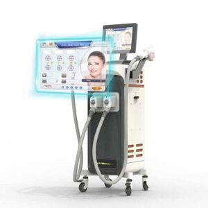 DHgate 755 alexandrite laser hair removal machine diodo multi wavelength soprano fiber dilas