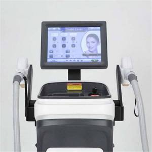 DHgate ce approved tec painless alexandrite laser 755nm woman 10 bars 808nm diode hair removal equipment with pedal switch