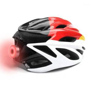 DHgate rechargeable bike light warning helmet taillight cycling accessories usb cycle lamp luces bicicleta luz bici rear bicycle light1