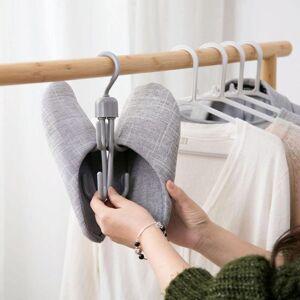 DHgate 10pcs eight hangers hook wardrobe closet organizer belt tie scarf hanging rack clothes shoes rack sundry shoe bag holder