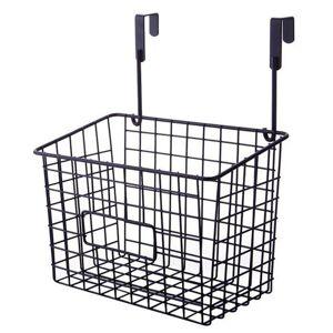 DHgate cupboard home organizer cabinet storage basket shelf door hanging sundries kitchen rack multifunctional household space saving