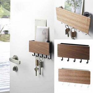 DHgate door hooks small bedroom vintage key bamboo hanger hallway home decorative room hooks space saving home wall hook storage rack